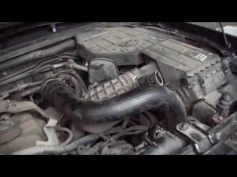 Nissan Pathfinder  замена ремнейГРМ и антифриз