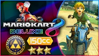 Mario Kart 8 Deluxe - Part 10   Triforce Cup 150cc Triple-Star! [Nintendo Switch Gameplay]