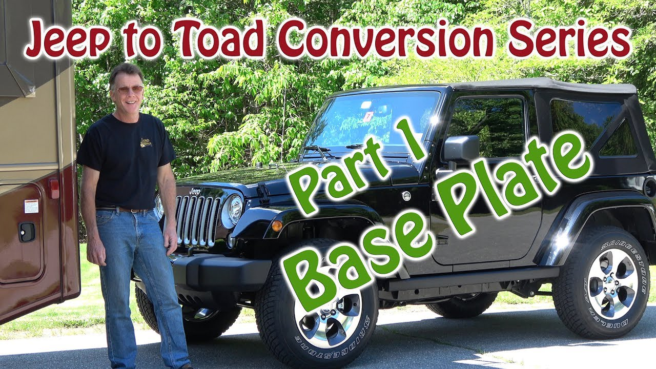 jeep to rv toad dingy conversion currie enterprises base plate rh youtube com 7 Pin Trailer Plug Wiring Diagram Jeep Wrangler Tail Lights