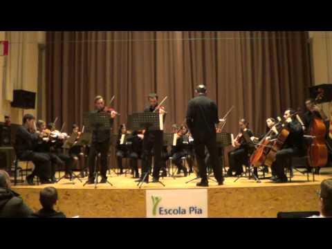 Bach - Concert per dos violins BWV1043 - 3. Allegro
