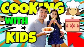 Bonding Moment | Cooking with Kids Featuring Spaghetti with Meatball and Chicken Bacon Explosion