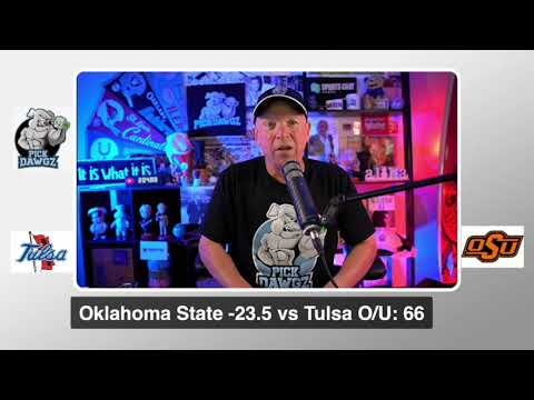 Oklahoma State vs Tulsa 9/19/20 Free College Football Pick and Prediction  CFB Tips Week 3