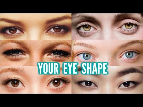 Eye makeup for different eyelids