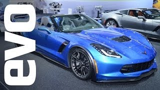Chevrolet Corvette Z06 Convertible at New York Auto Show 2014 | evo MOTOR SHOWS
