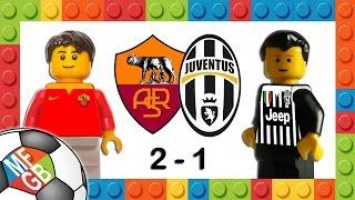 ROMA-JUVENTUS 2-1 - Lego Calcio Serie A 2015/16 - Goals Pjanic, Dzeko, Dybala - Highlights e Sintesi