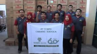 Video Ucapan HUT Tempo Scan ke-60 PTT. Bangka / Pangkal Pinang download MP3, 3GP, MP4, WEBM, AVI, FLV Desember 2017