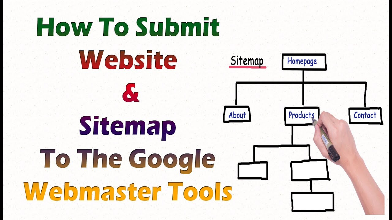 how to submit sitemap website to google webmaster tools 2018