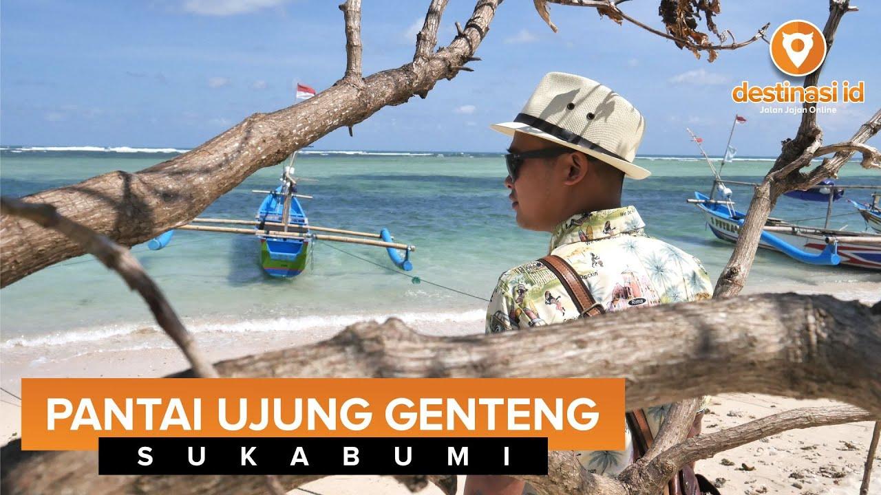 Wisata Pantai Ujung Genteng Sukabumi Destinasiid Youtube