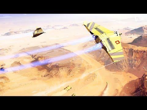 CARRIER FIGHTER & BOMBER STRIKES ON ENEMY BASE | Homeworld: Deserts of Kharak