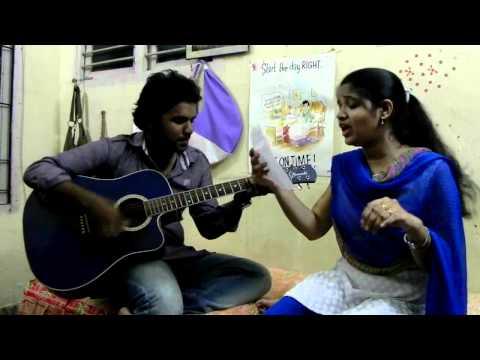 Varsham Munduga-Mazhai Varum-Sega-Veppam- Guitar cover by Haritha and Naren