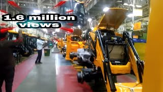 JCB HEADQUATER INDIA ASSEMBLY LINE WORK .JCB India manufactures 2dx and 3dx