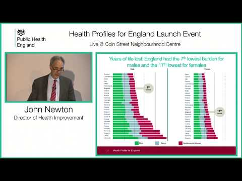 Health Profile for England Launch Event