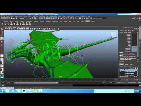 Maya: script reset animation control
