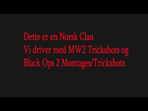Norsk PS3 Call of Duty Clan Recruiting | Bl4zE Clan