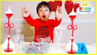 Top Science Experiments for kids to do at home  Ryan ToysReview