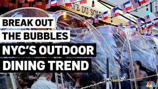 'Bubble Dining' Trends for NYC Outdoor Restaurants   NBC New York