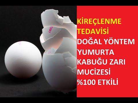 Kireçlenme Tedavisi Doğal Yumurta kabuğu  Zarı %100 Etkili