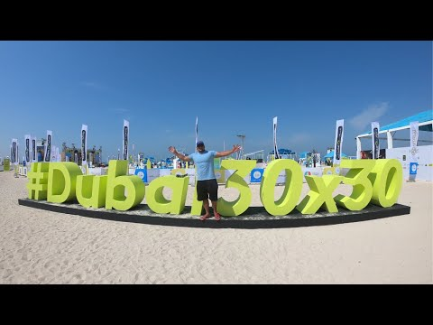 DUBAI FITNESS CHALLENGE 2019 | KITE BEACH DUBAI | FREE ACTIVITIES