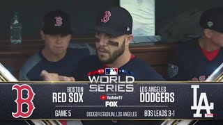 Gambar cover Boston Red Sox vs Los Angeles Dodgers Highlights  World Series Game 5  October 28 2018