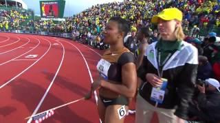 2012 US Women's Track & Field 100m Olympic Trials