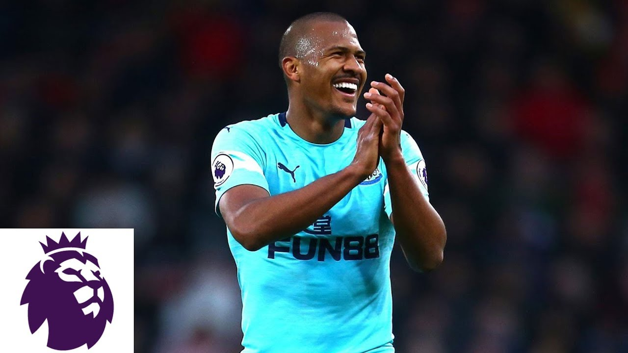 Salomon Rondon's free kick pushes Newcastle ahead over Bournemouth | Premier League | NBC Sports