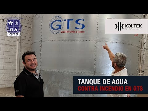 Tanque de agua contra incendio en gts thumbnail