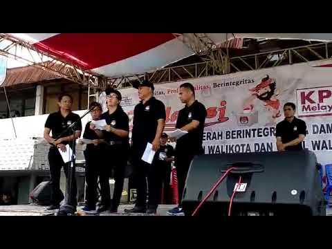 Video Ajakan Pilkada Damai Oleh KPUD Kota Kotamobagu