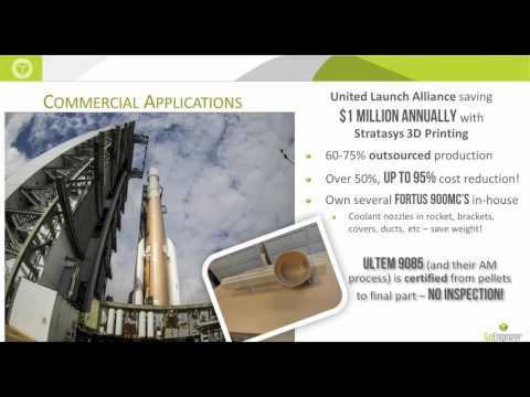 Stratasys - New Applications for 3D Printing in Aerospace
