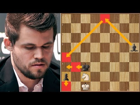 Squeezing Water from Stone | Magnus Carlsen Shows Why He's The Best | WRC | Round 12