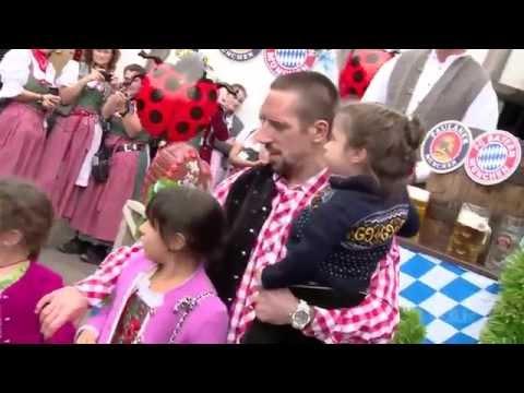Bayern Stars Oktoberfest