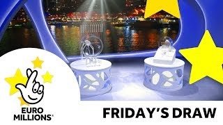 The National Lottery Friday 'EuroMillions' draw results from Friday 7th July 2017