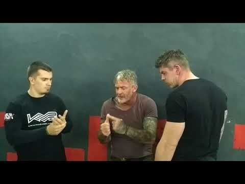 Lee Morrison Urban Combatives Ballistic Clinch