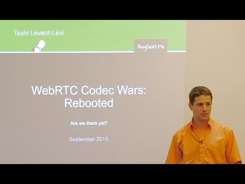 TechToks at TokBox - WebRTC codec wars: rebooted