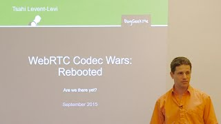 TechToks at TokBox - WebRTC codec wars: rebooted