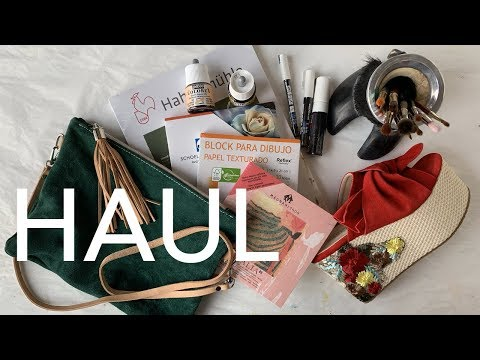 Buenos Aires Haul: Art Supplies & Fashion