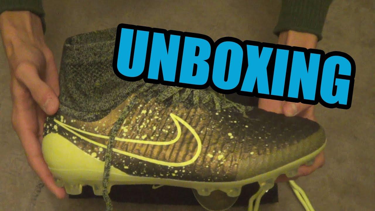 6d514bcb36 Nike Magista Obra (Dark Citron Volt Black) UNBOXING