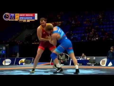 Артур Алексанян победитель турнира в Киеве