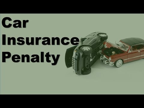 Car Insurance Penalty | The Cost Of The Penalty Against The Potential Savings