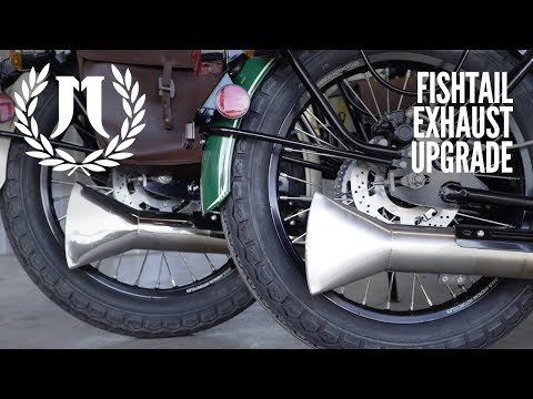 Fishtail Exhaust Upgrade | Halcyon 250