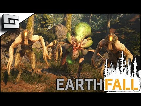 EARTHFALL! NEW Left 4 Dead With ALIENS! Earthfall Multiplayer Gameplay E1