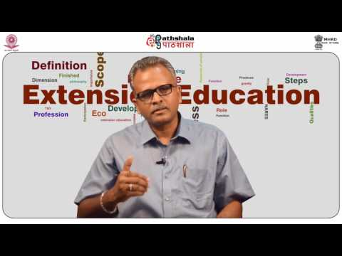 Dimension of Agricultural Extension
