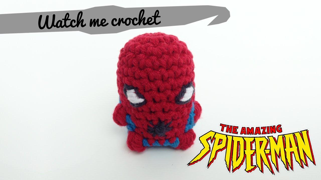 Spider-Man - Watch me Crochet - YouTube