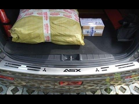 Накладки на багажник и бампер