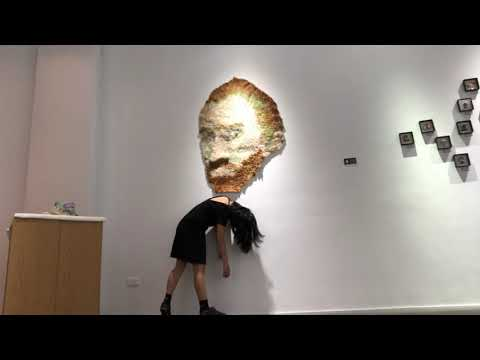 Needle Felted Portrait Of Vincent Van Gogh