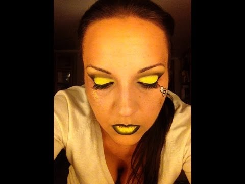 Maquillaje para Carnaval Abeja Reina YouTube