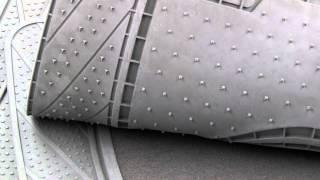 Goodyear Premium Carpet & Rubber Floor Mat Set -- Pep Boys
