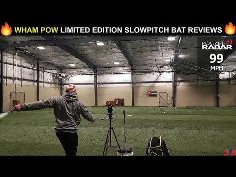 2020 Easton POW & WHAM Fire Flex USSSA Slowpitch Bat Review With Christian Dowling