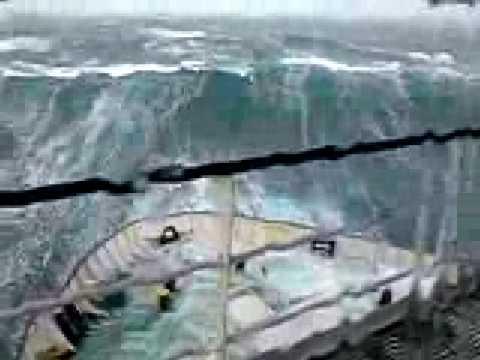 Temporal En El Mar Del Norte Youtube
