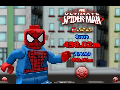 Lego Spiderman Ultimate Games For Kids Gry Dla Dzieci Youtube