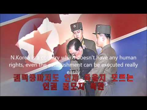 Human rights issues in North Korea.  Send Kim Jong-un to the ICC.
